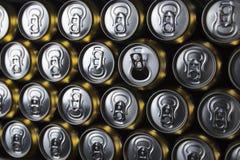 Lata de bebida fotografia de stock royalty free