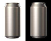 Lata de cerveja ilustração stock
