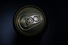 Lata de cerveja Fotografia de Stock