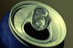 Lata de cerveja de alumínio Fotografia de Stock Royalty Free