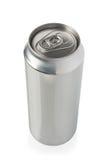 Lata de cerveja de alumínio Imagem de Stock Royalty Free