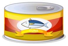 Lata de A do atum Imagem de Stock Royalty Free