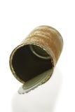 Lata de estanho oxidada Imagem de Stock Royalty Free