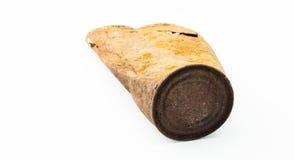 Lata de estanho oxidada velha Imagens de Stock