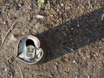 Lata de lata oxidada Imagens de Stock Royalty Free