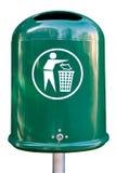 Lata de lixo Imagens de Stock