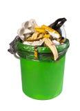 Lata de lixo Imagem de Stock