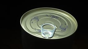 Lata de lata selada filme