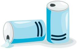 Lata de soda Foto de Stock Royalty Free