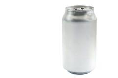 Lata de soda Imagens de Stock