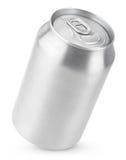 lata de soda de alumínio de 330 ml Imagem de Stock Royalty Free