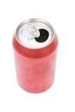 Lata de soda vermelha Imagens de Stock Royalty Free