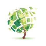 Lata drzewo ilustracji