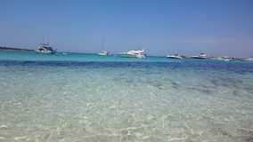 Lata Es Trenc plaża Fotografia Royalty Free