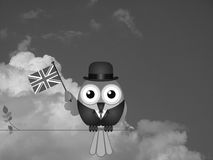 Latać flaga Obrazy Royalty Free