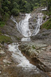 Lata Iskandar-Wasserfall in Cameron Highlands Malaysia Lizenzfreies Stockfoto