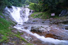 Lata Iskandar Waterfall. And surroundings at Cameron Highlands, Pahang, Malaysia Stock Photo