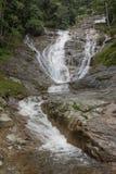 Lata Iskandar waterfall in Cameron Highlands Malaysia Royalty Free Stock Photo