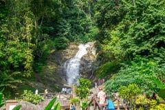 Lata Iskandar Waterfall Tapah-Ringlet imagen de archivo libre de regalías