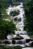 Lata Kinjang Waterfall. Is one of the tallest waterfall located at Cenderiang, Perak, Malaysia Stock Images