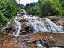 Lata Kinjang Waterfall in Tapah, Perak, Malesia immagini stock