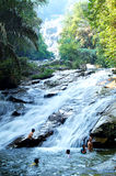 Lata Kinjang Waterfalls Royalty Free Stock Photos