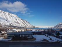 Lata landcape w Iceland Zdjęcie Stock