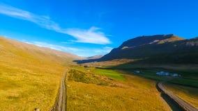 Lata landcape w Iceland Obraz Stock