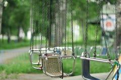 Lata miasta park Zdjęcia Royalty Free