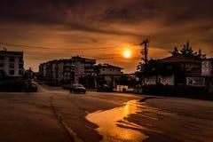 Lata miasteczka wejście Zdjęcie Royalty Free