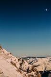 lata mnie na księżyc zdjęcie stock