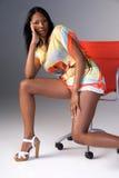 lata mody kobieta Fotografia Stock