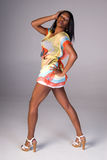 lata mody kobieta Zdjęcie Royalty Free