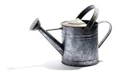 Lata molhando galvanizada do metal Foto de Stock Royalty Free