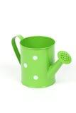 Lata molhando verde Fotografia de Stock