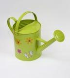 Lata molhando verde Imagem de Stock Royalty Free