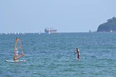 Lata morza widok Zdjęcie Royalty Free