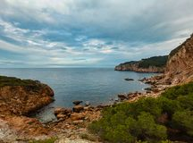 Lata morza zatoka Hiszpania Zdjęcia Royalty Free