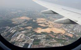 Latać nad terenem Malezja Fotografia Stock