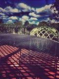 Lata patio Zdjęcie Stock