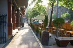 Lata piwa bar w Belgrade Fotografia Royalty Free