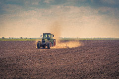 Lata pole w rolnictwie zdjęcie royalty free