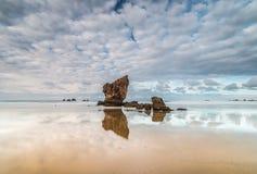 Lata popołudnie przy Aguilar plażą! Fotografia Stock