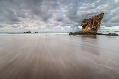 Lata popołudnie przy Aguilar plażą! Obraz Stock
