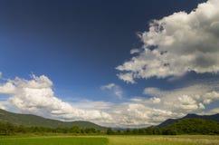 Lata popołudnia krajobraz Obraz Royalty Free