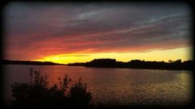 Lata słońca set Zdjęcie Stock