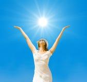 lata słońce słońce Zdjęcie Royalty Free