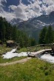 lata szwajcarskie alpy Obrazy Stock