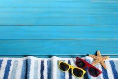 Lata tła plażowa granica Zdjęcie Stock