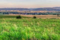 lata wiejskiego krajobrazu Zdjęcia Stock